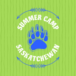 Summer Camp Logo Template a56