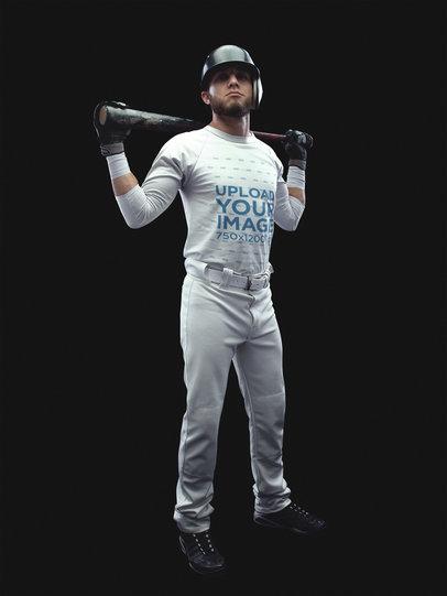 Baseball Uniform Designer - Standing Batter a15989