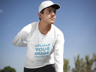 Baseball Uniform Designer - Teenager Pitcher Outdoors a16408