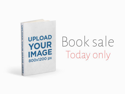 eBook Ads - Hard Cover Book Standing on a Flat Surface a16564