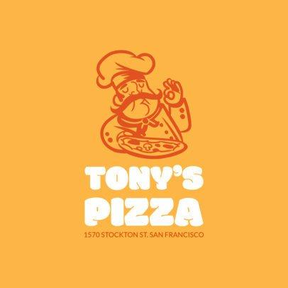 Pizza Logo Maker a989