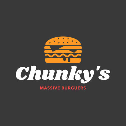 Fast Food Restaurant Logo Maker a1012