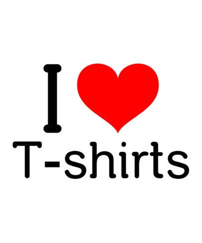 I Heart T-Shirt Template a27