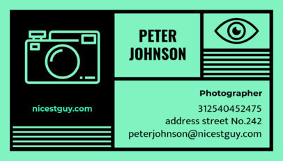 Business Card Maker for a Photography Business 47