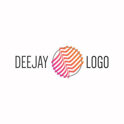 DJ Logo Maker - Geometric Graphics a1081