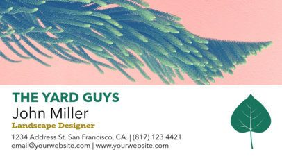 Landscaping Business Card Template a97