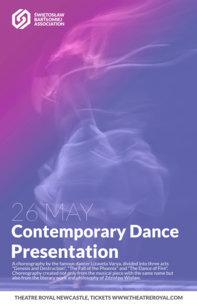 Contemporary Dance Flyer Maker a137