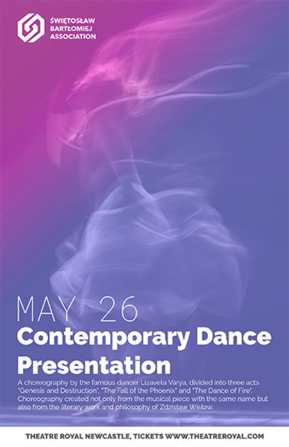 Contemporary Dance Flyer Maker a137
