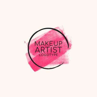 Makeup Artist Logo Maker a1139