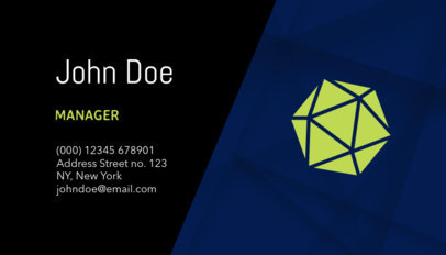 Corporate Business Cards Template a120