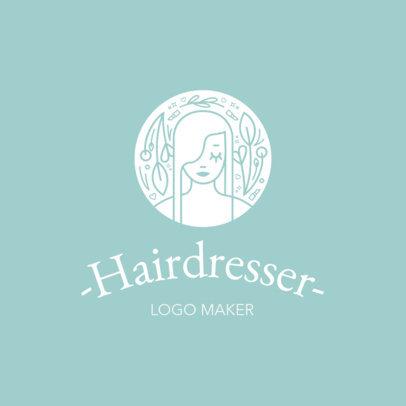 Hair Salon Logo Maker a1153