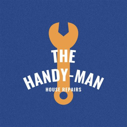 Handyman Logo Maker a1156