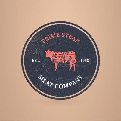 Logo Maker to Design a Butcher Logo a1185