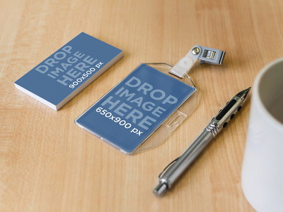 Business Card and Badge Holder