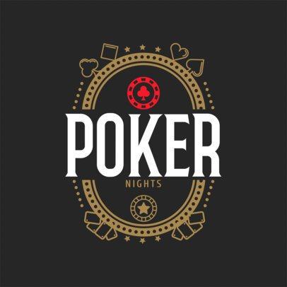 Online Gambling Logo Maker a1158