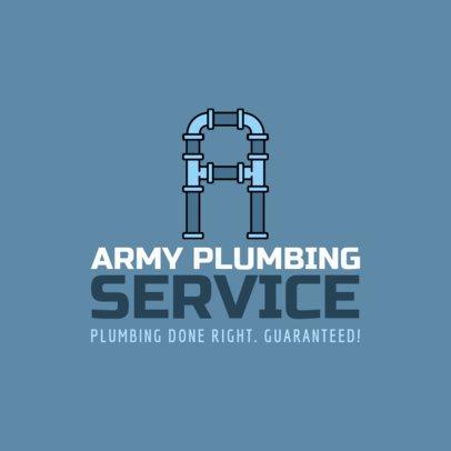 Plumbing Logo Maker a1239