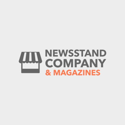 Newsstand Logo Maker a1182