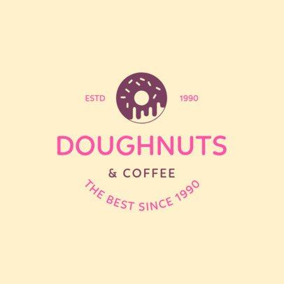 Doughnut Shop Logo Maker a1232