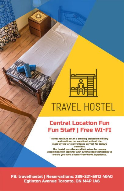 Flyer Maker for Hotels a216