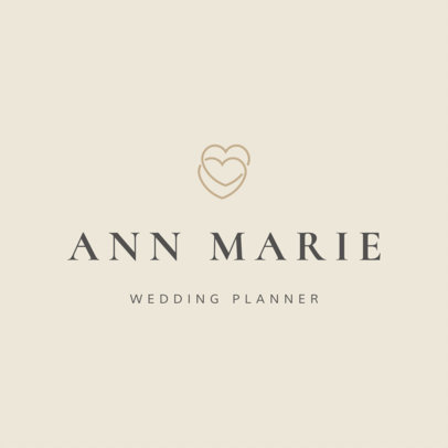 Wedding Planner Logo Maker - Small Graphics a1217