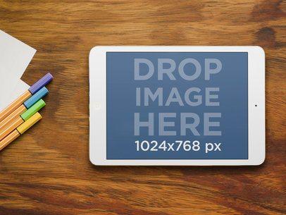 iPad Mini at Designer Space
