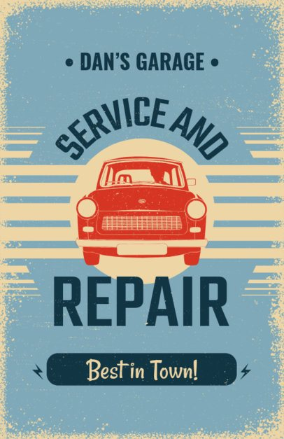 Flyer Maker for Auto Repair Shops 267