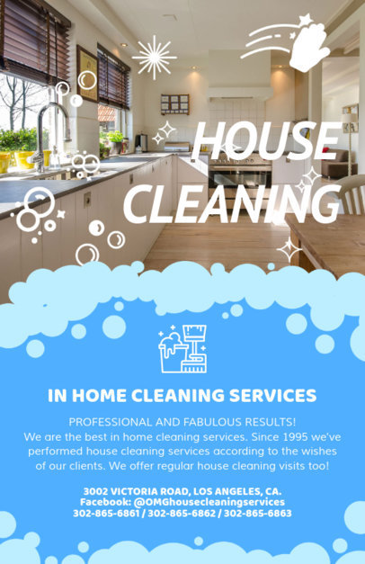 House Cleaning Flyer Maker a283