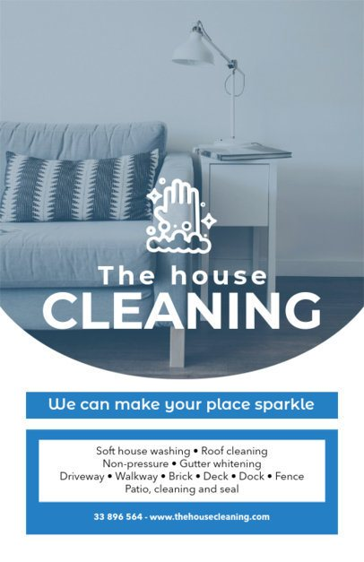 House Cleaning Service Flyer Maker a271