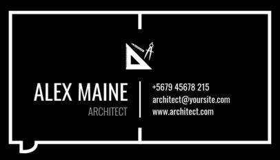 Architectecture Business Card Maker a319
