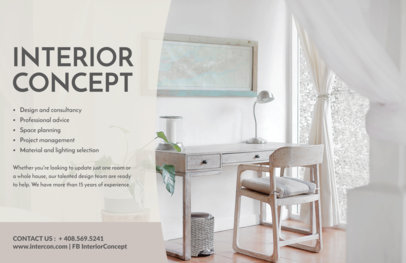 Interior Design Flyer Maker a302