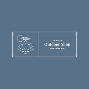 Badge Logo Maker for Outdoor Gear Stores 354d