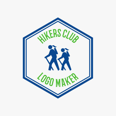 Summer Hike Logo Maker 56c
