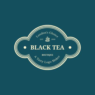 Tea Shop Logo Maker 949c