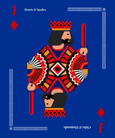 Poker Clothing T-Shirt Design Maker 8b