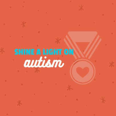 Autism Charity T-Shirt Template for Local Charity 899c