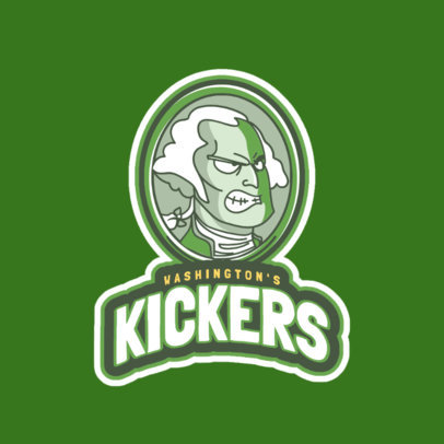 Logo Maker for Sports Teams with Cartoon Icons 523b