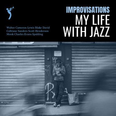 Jazz Album Cover Maker 58a