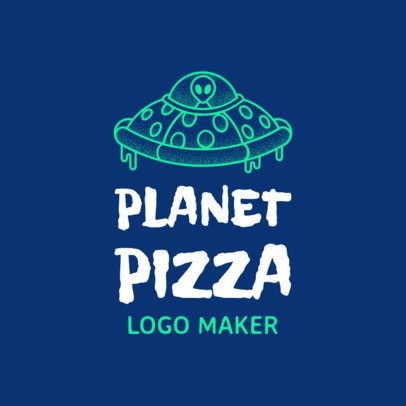989c - Pizza logo maker