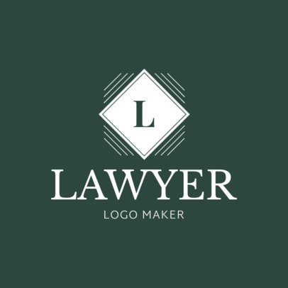 Lawyer Logo Maker with Custom Badges 1017b
