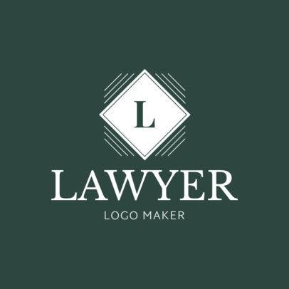 Lawyer Logo Maker with Custom Badges 1017b
