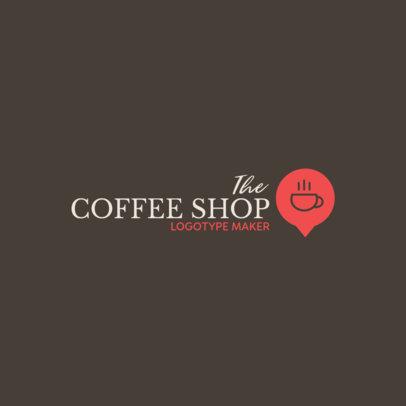 Coffee Shop Logo Maker Elegant Graphics 956e