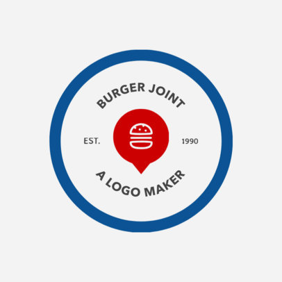 Custom Logo Maker for Burger Shops 1013c