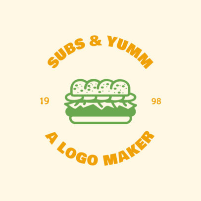 Logo Template for Sandwich Shops 1013f