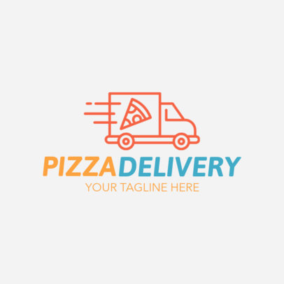 Pizza Delivery Logo Maker 1030a