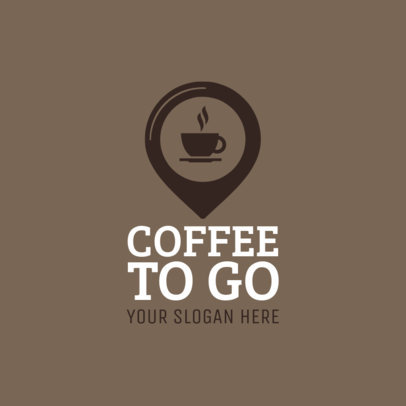 Coffee Delivery Logo Maker 1030c