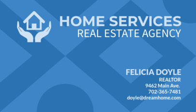 Real Estate Business Card Template 66c