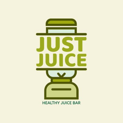 Logo Maker for a Juice Bar a1235