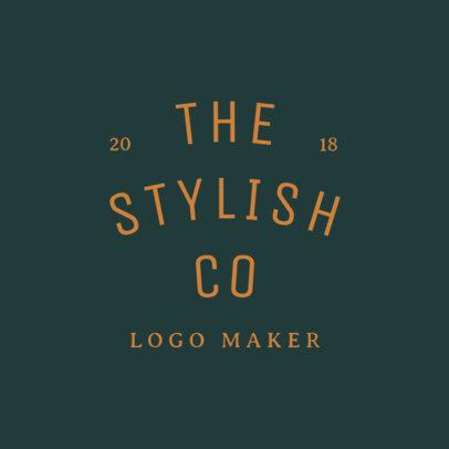 Modern Logo Maker for Fashion Industry 1067f