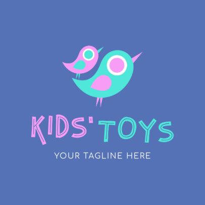 Kid's Toys Logo Maker 1094c