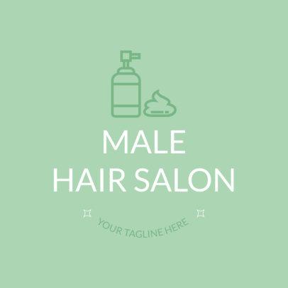 Logo Maker for Male Hair Salon 1123c